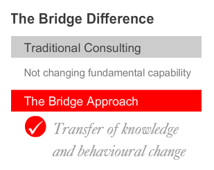 THE BRIDGE DIFFERENCE 7