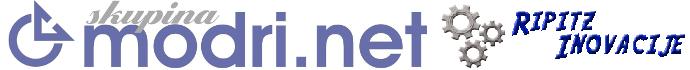 Logotip Skupina Modri.net Ripitz Inovacije