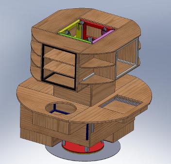web konstrukcija otočne kuhinje-univerzalni vezni element 1
